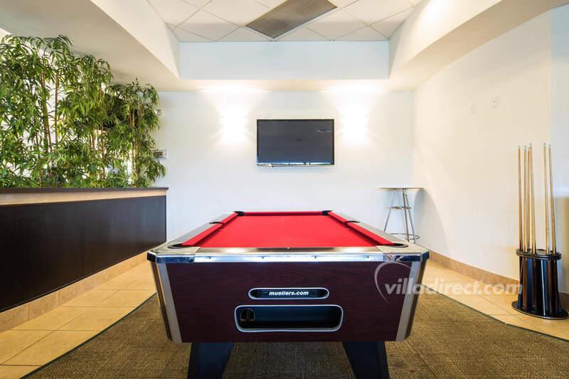 The games room at Encantada
