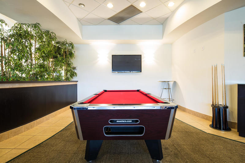 The games room at Encantada