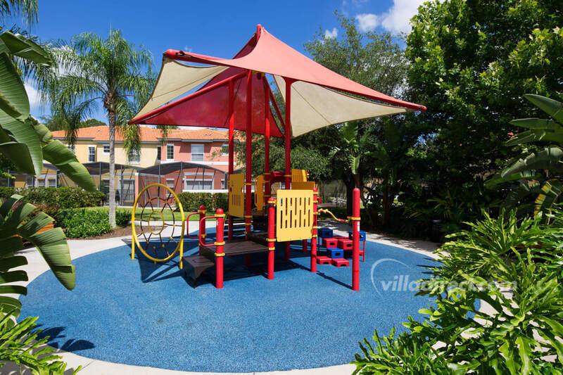 Kids play area at Encantada