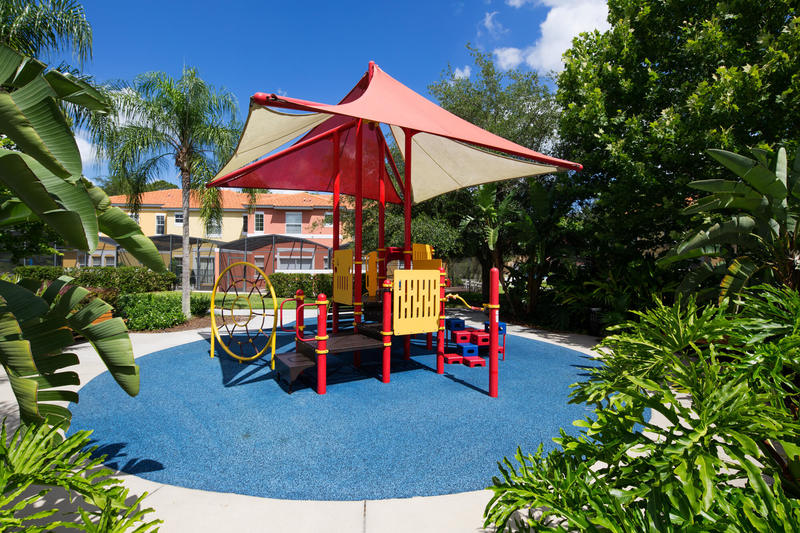 Kids play area at Encantada