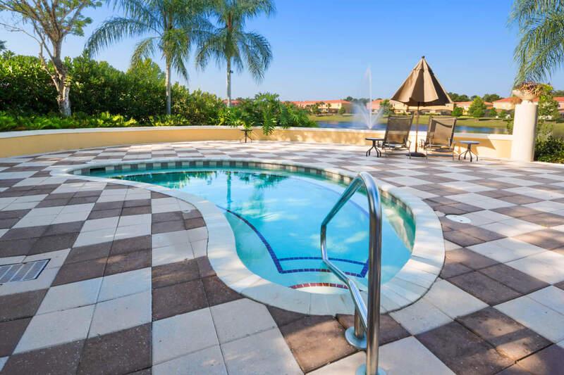 Spa pool and tub at the Encantada resort