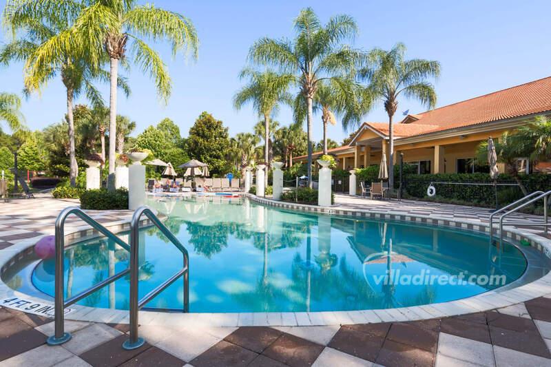 Main pool at Encantada resort