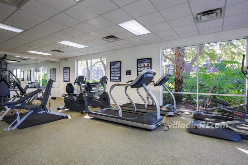 Fitness center at Encantada