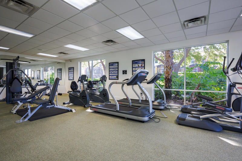 Fitness center at Encantada