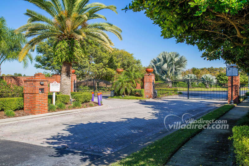 Formosa Gardens Estates gated entranceway