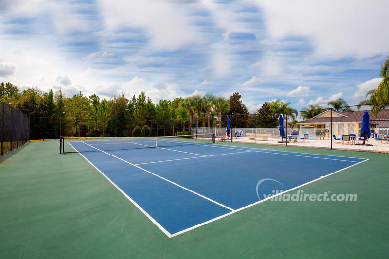 Tennis courts at Glenbrook
