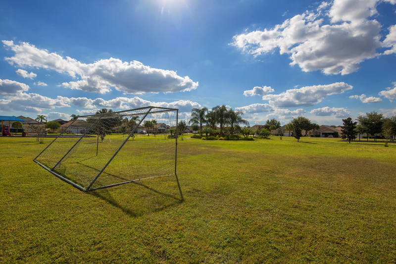 Soccer pitch at Indian Creek