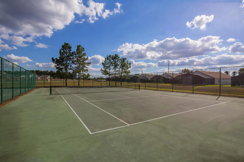Tennis courts at Indian Creek