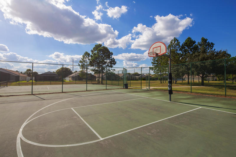 Basketball court at Indian Creek