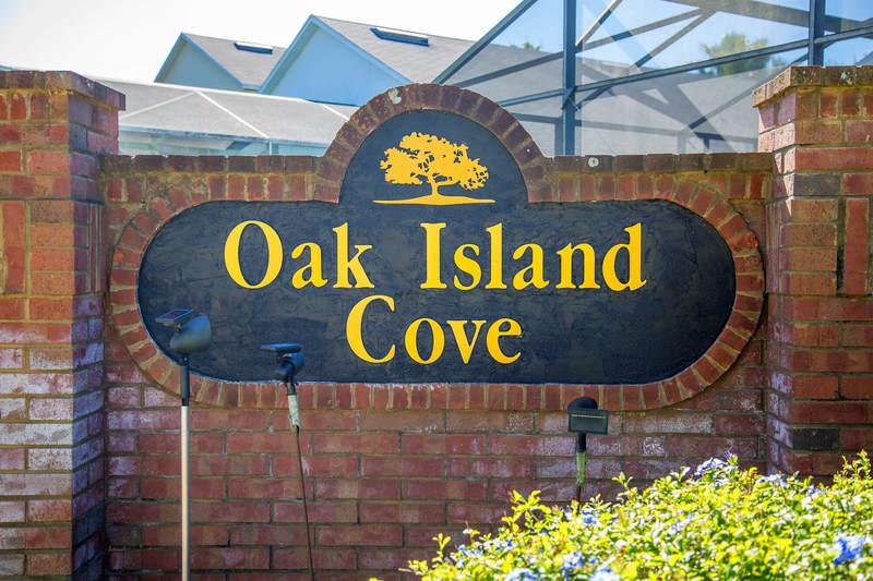 Oak Island Cove entrance