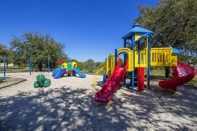 Kids play area at Orange Tree