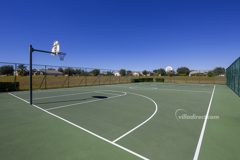 Full-size Basketball court at Orange Tree