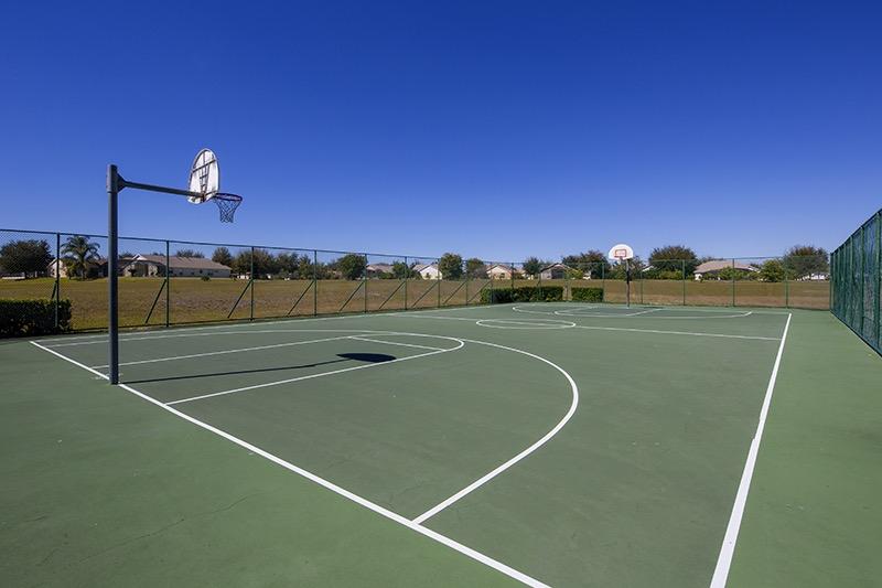Full-size Basketball court at Orange Tree
