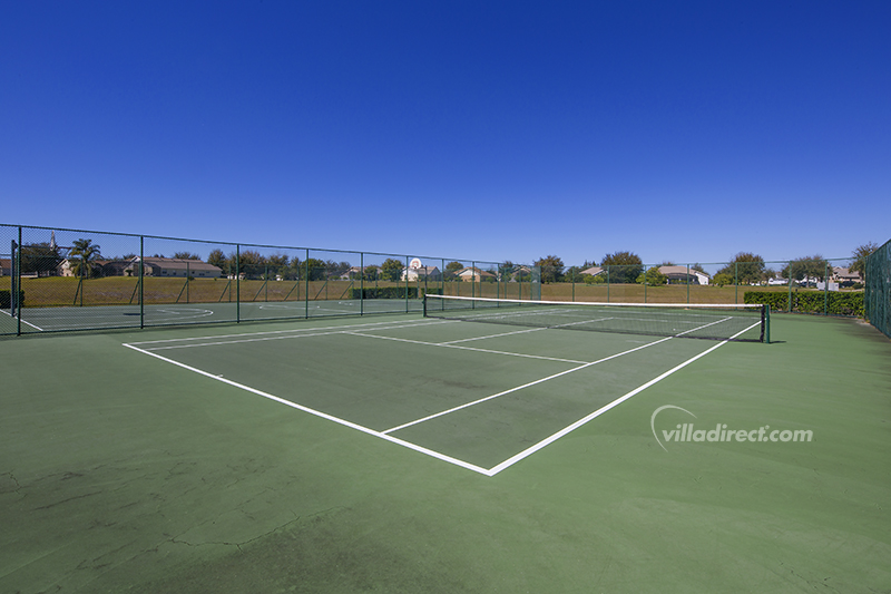 Tennis court at Orange Tree