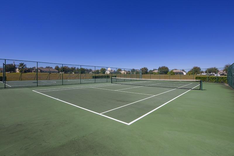 Tennis court at Orange Tree