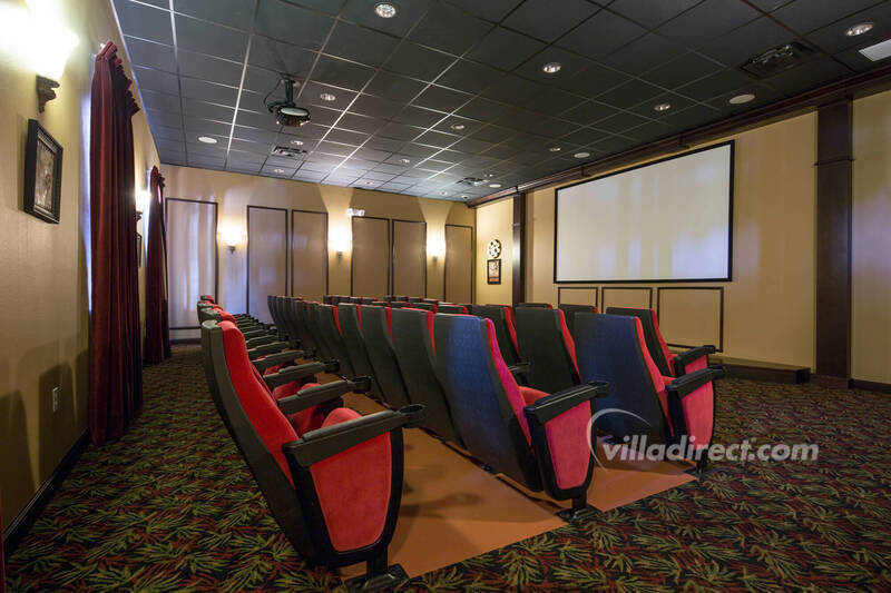 The 50-seat cinema in Paradise Palms clubhouse