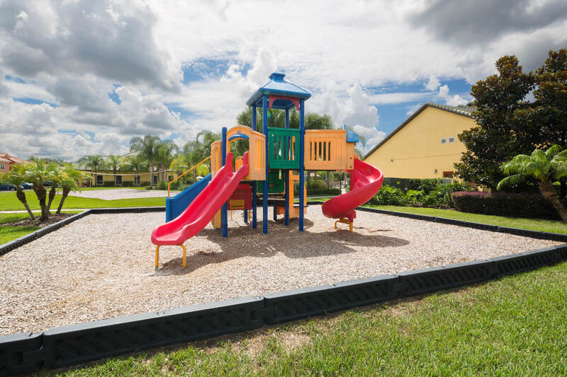 Kids play area at Paradise Palms