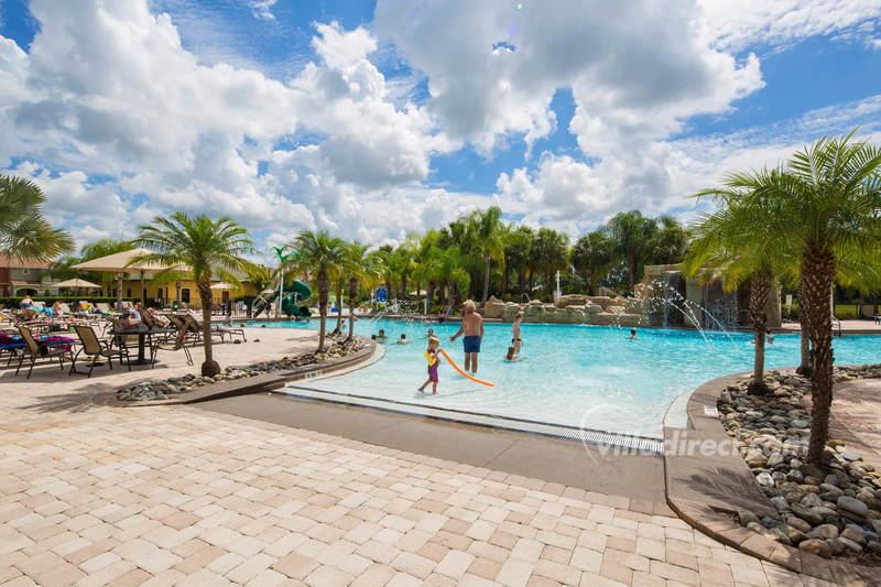 The lagoon pool at Paradise Palms