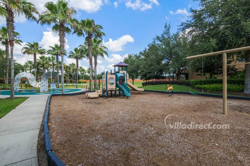 Childrens playground at Solana resort