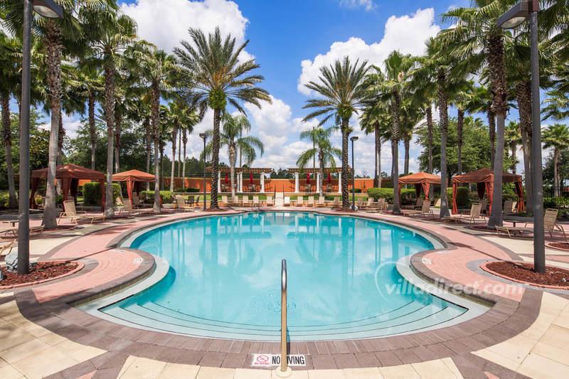 The pool at Solana resort