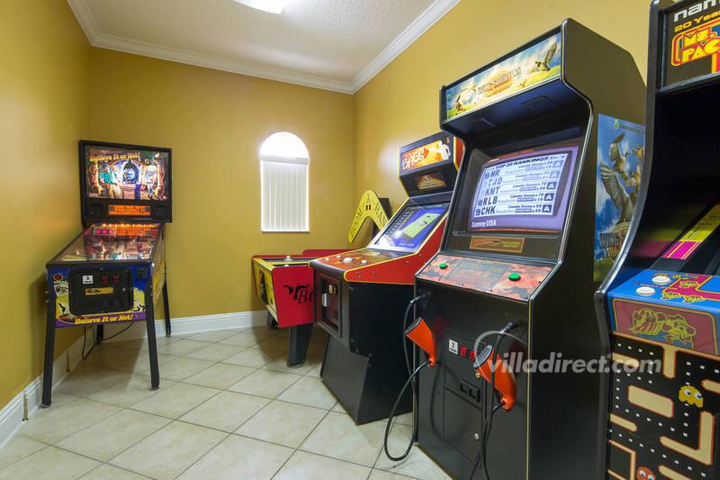 The arcade at Solana resort
