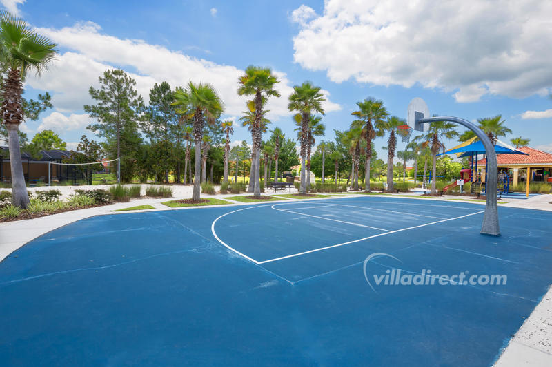 Basketball press court at Terra Verde resort