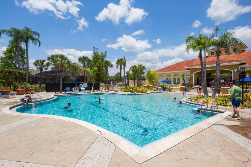 The clubhouse at Terra Verde vacation rental resort