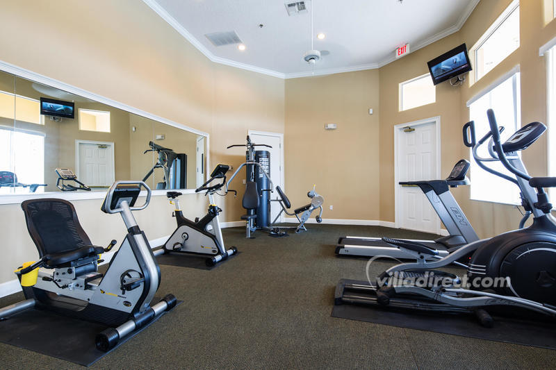 Fitness center at Terra Verde resort in Kissimmee