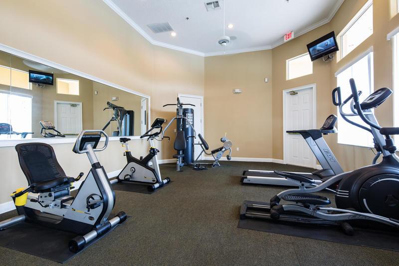 Fitness center at Terra Verde resort in Kissimmee