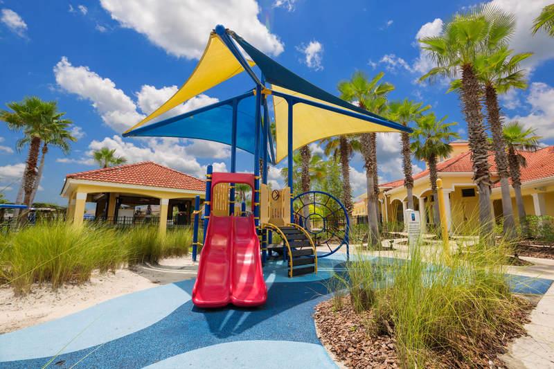 Kids playground at Terra Verde