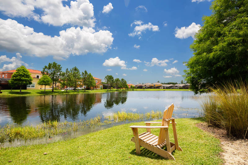 Lakeside relaxation at Terra Verde