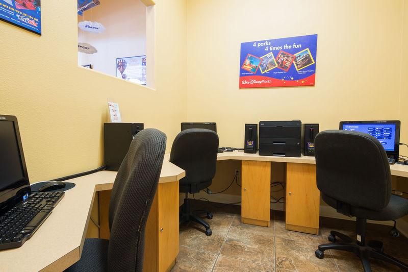 Internet cafe at Terra Verde resort