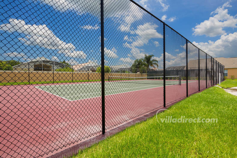 Tennis court at Terra Verde Resort