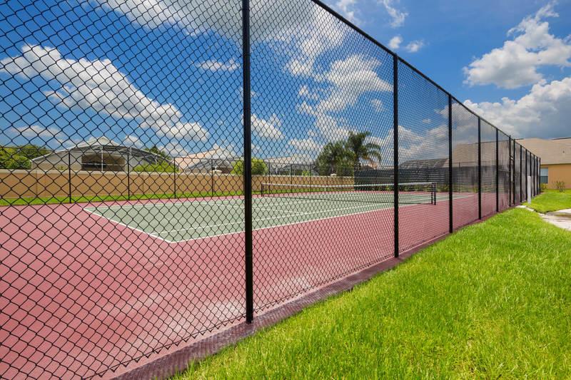 Tennis court at Terra Verde Resort