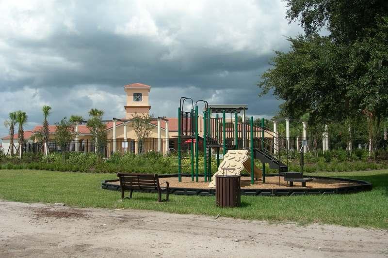 Climbing frame at Villa Sol