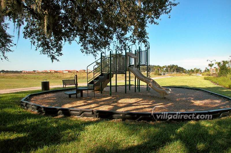 Kids climbing frame at Villa Sol