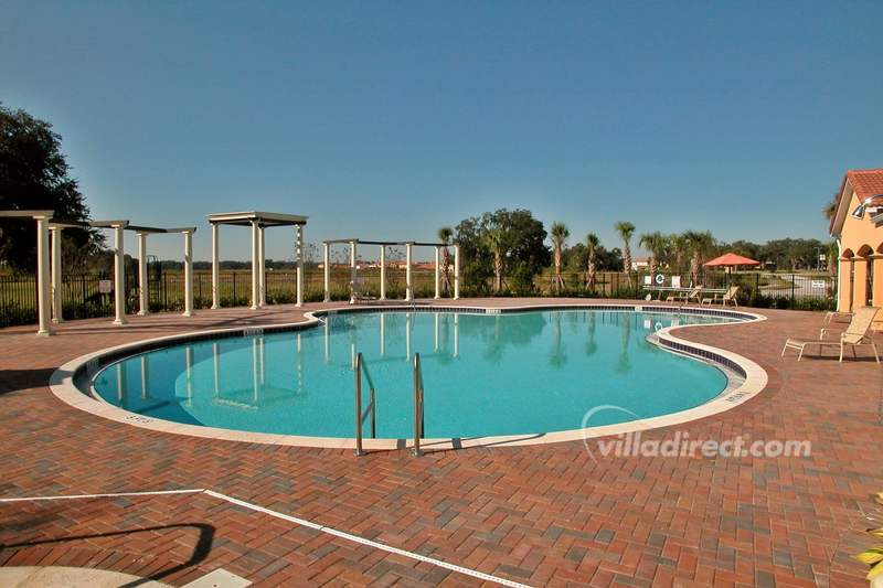 The Villa Sol pool and deck