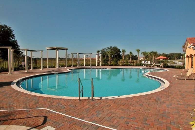 The Villa Sol pool and deck