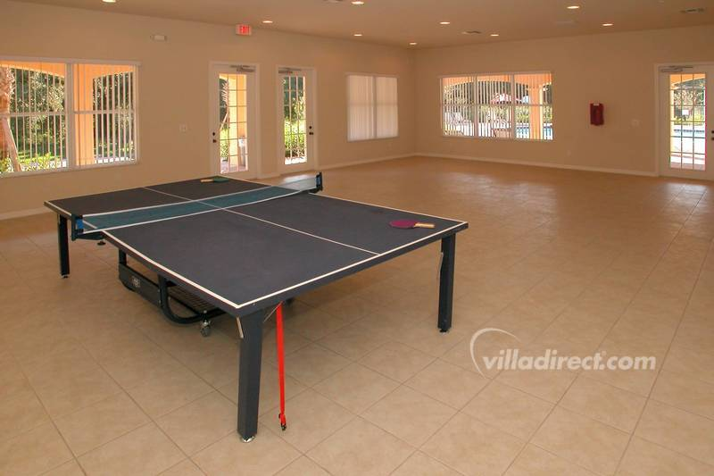 Play ping-pong at Villa Sol