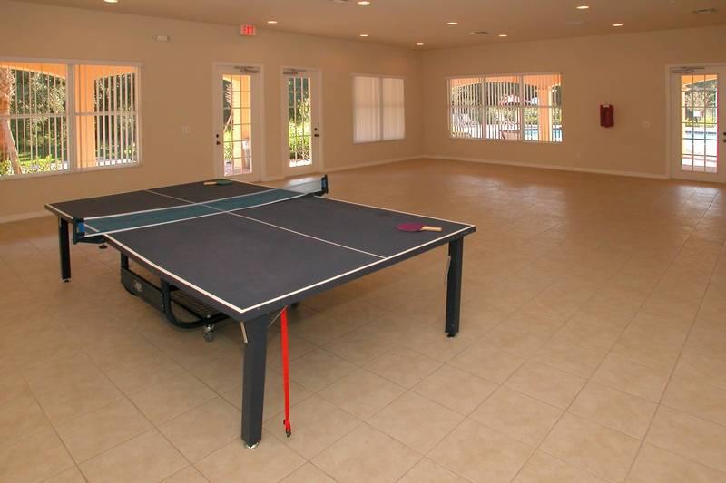 Play ping-pong at Villa Sol