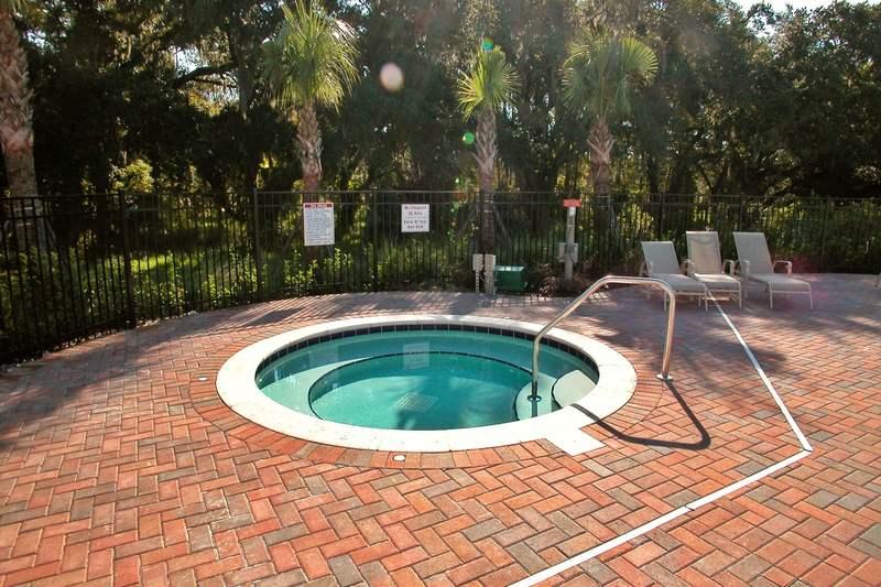 The hot tub/spa at Villa Sol