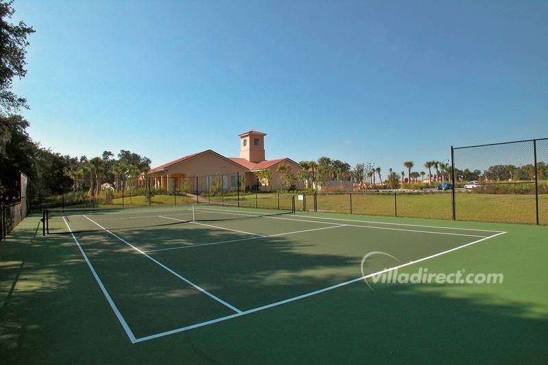 Tennis court at Villa Sol