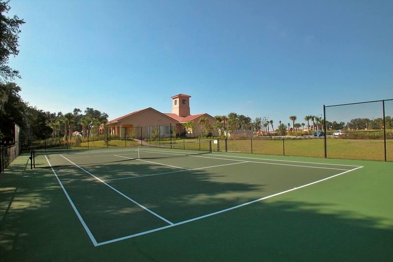 Tennis court at Villa Sol