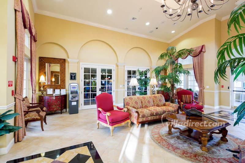 Vista Cay clubhouse lobby