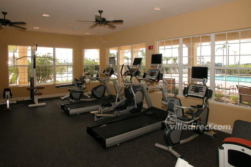 Fitness center at Vista Cay