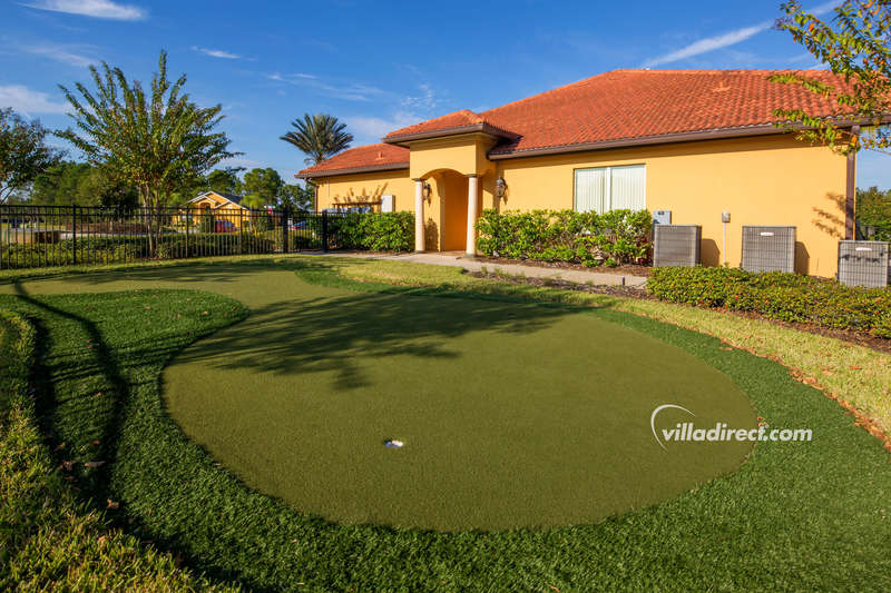 Practice green at Watersong