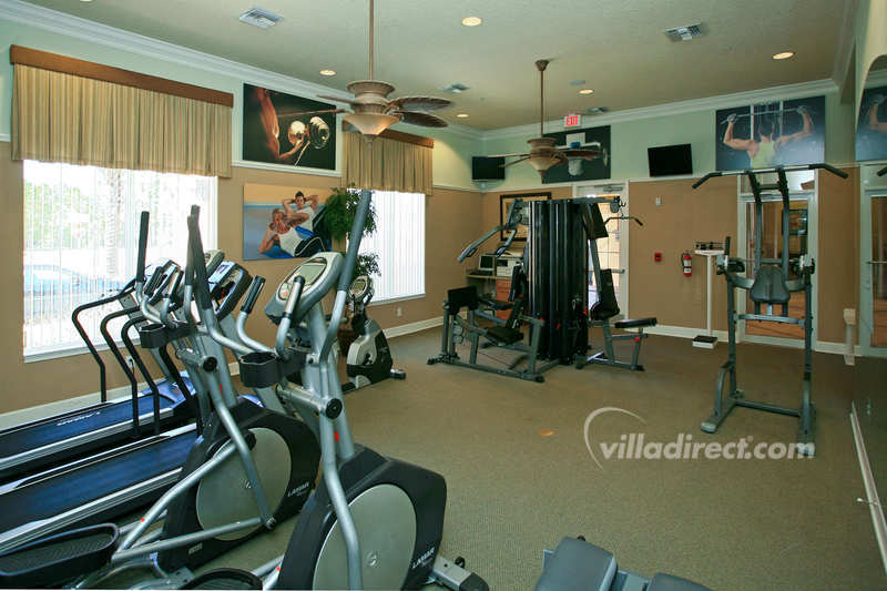 Well equipped exercise center
