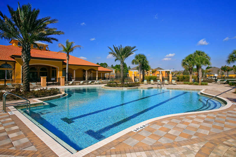 Large pool at the clubhouse