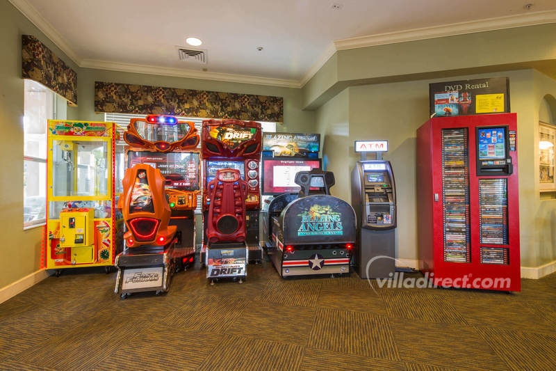 Video arcade at Windsor Hills