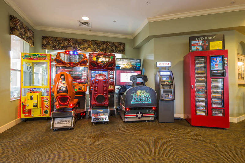 Video arcade at Windsor Hills
